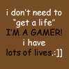 gamer funny icon by darkangelo7