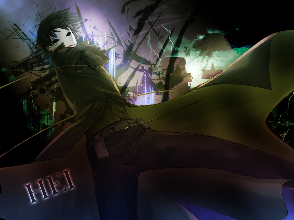 Darker Than Black Hei Wallpaper By Gavinthesouza On Deviantart