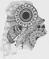 Henna Silhouette by weirdo98