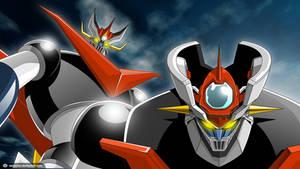 Great Mazinger and Mazinger Zero by vectormz