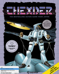 Thexder game Cover Art