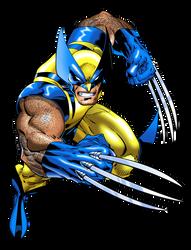 Wolverine running by vectormz