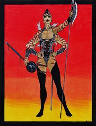The Danuvian Half-Breed Warrior