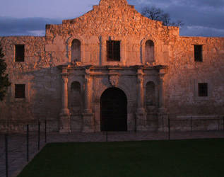 Alamo Sunset by snakelady