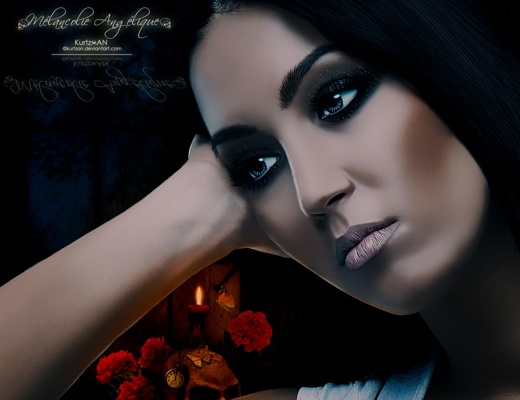 Angelic Melancholy by Kurtzan