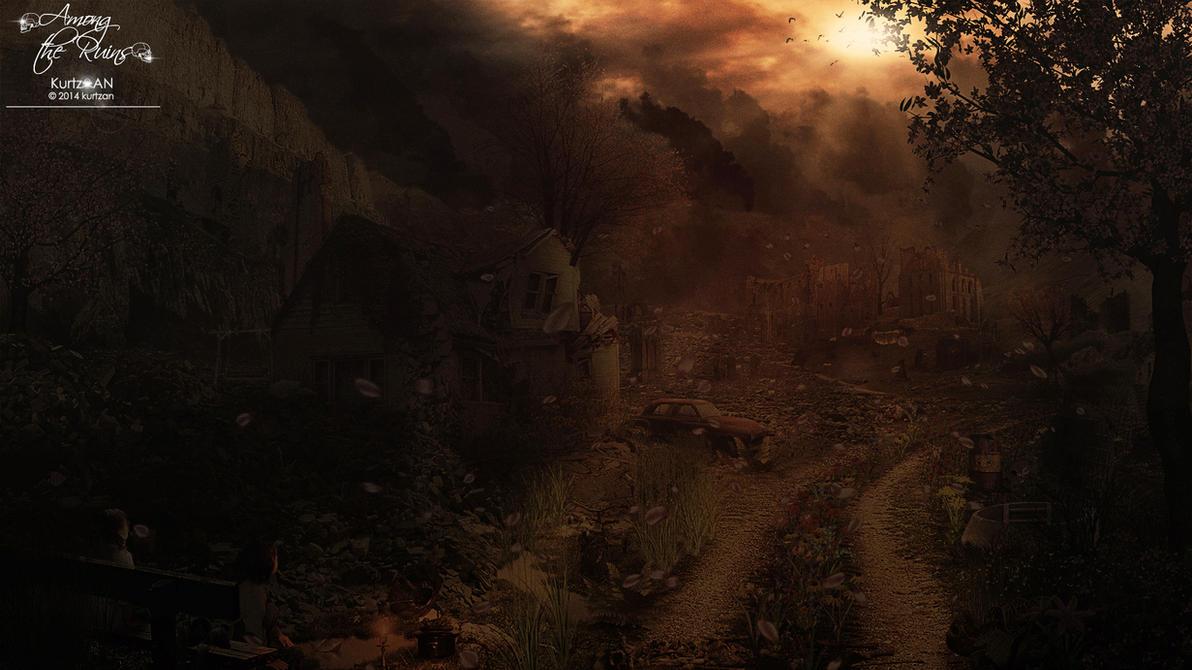 Among the Ruins by Kurtzan