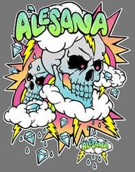 Alesana shirt design by BethanyBRUTAL
