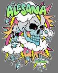 Alesana shirt design