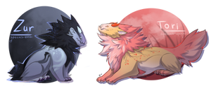 [CLOSED] Adopts Auction - ZUR and TORI