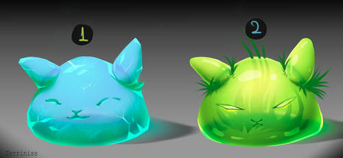Adopts auction - Slimes!