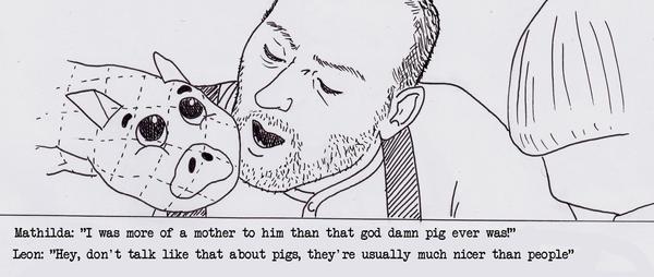 Leon's pig by soopa-boombox-rox