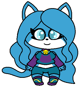 Sapphire (New OC Adopted) by SuperLuigi1025