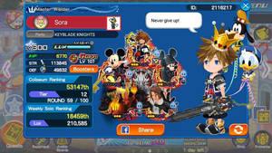 Finally got Fenrir in Kingdom Hearts Union Cross