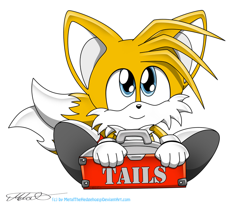 Chibi Tails by Metal-CosxArt