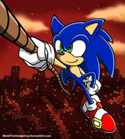 Hold on Sonic by Metal-CosxArt