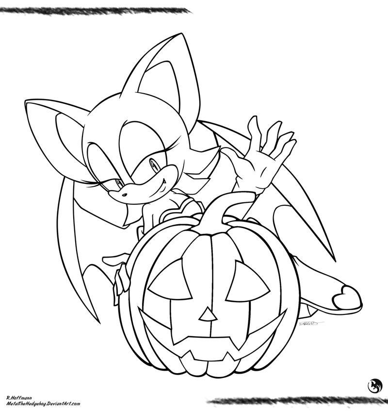 CP18: Halloween - Rouge by Metal-CosxArt on DeviantArt