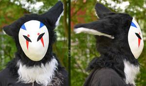 Random Masked Beast - Fursuit Head Test