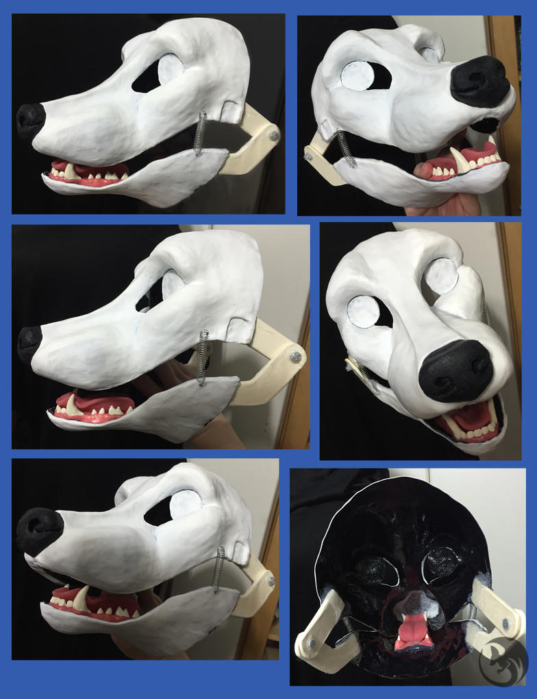 Canine Fursuit Resin Base by Metal-CosxArt