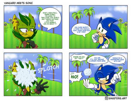 Vangard meets Sonic