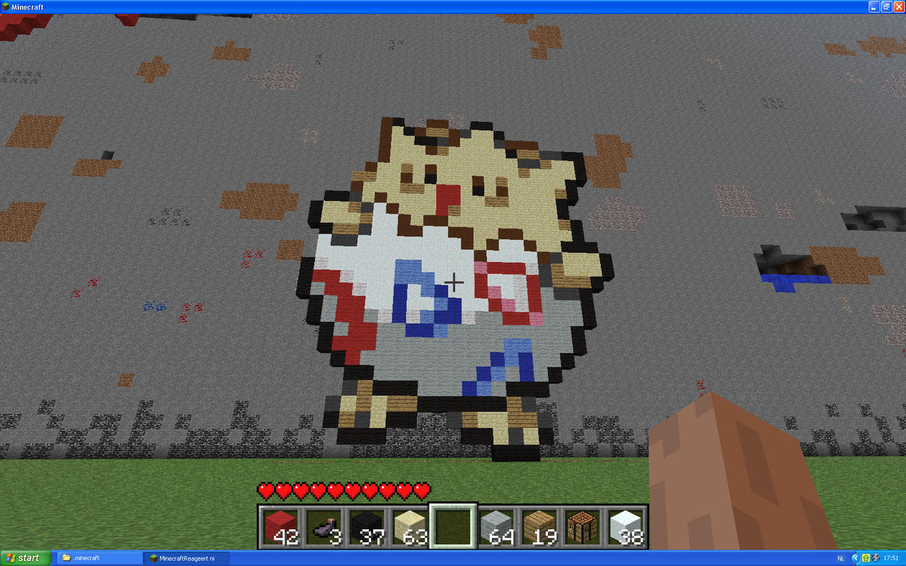 Togepi On Minecraft by Miccopicco