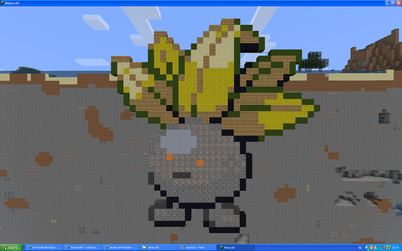 Oddish On Minecraft by Miccopicco