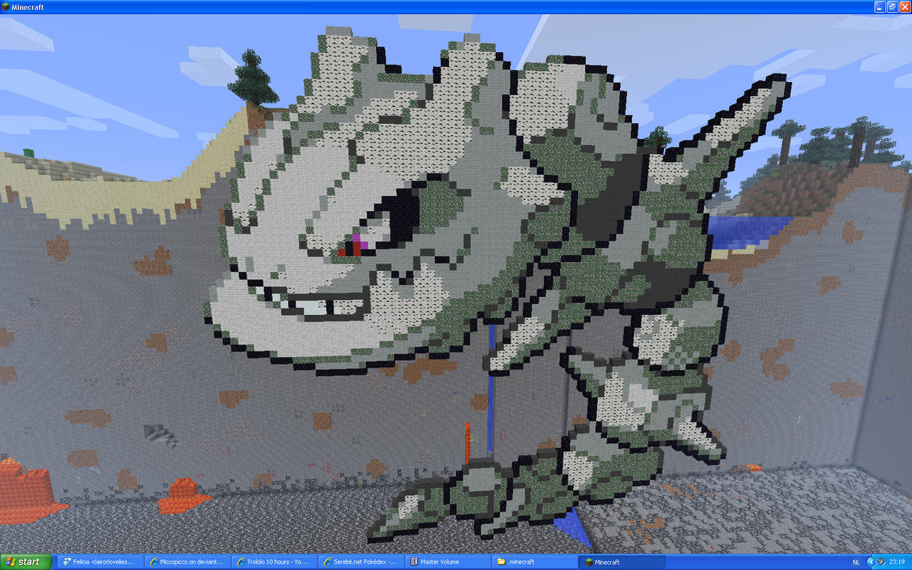 Steelix On Minecraft by Miccopicco