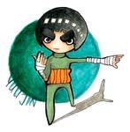 Rock Lee chibi by Yuujin
