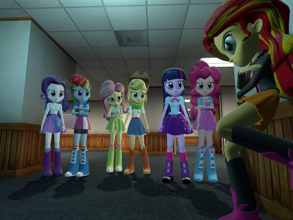 Equestria Girls: What To Do. (Gmod) By LeoBandicoot On