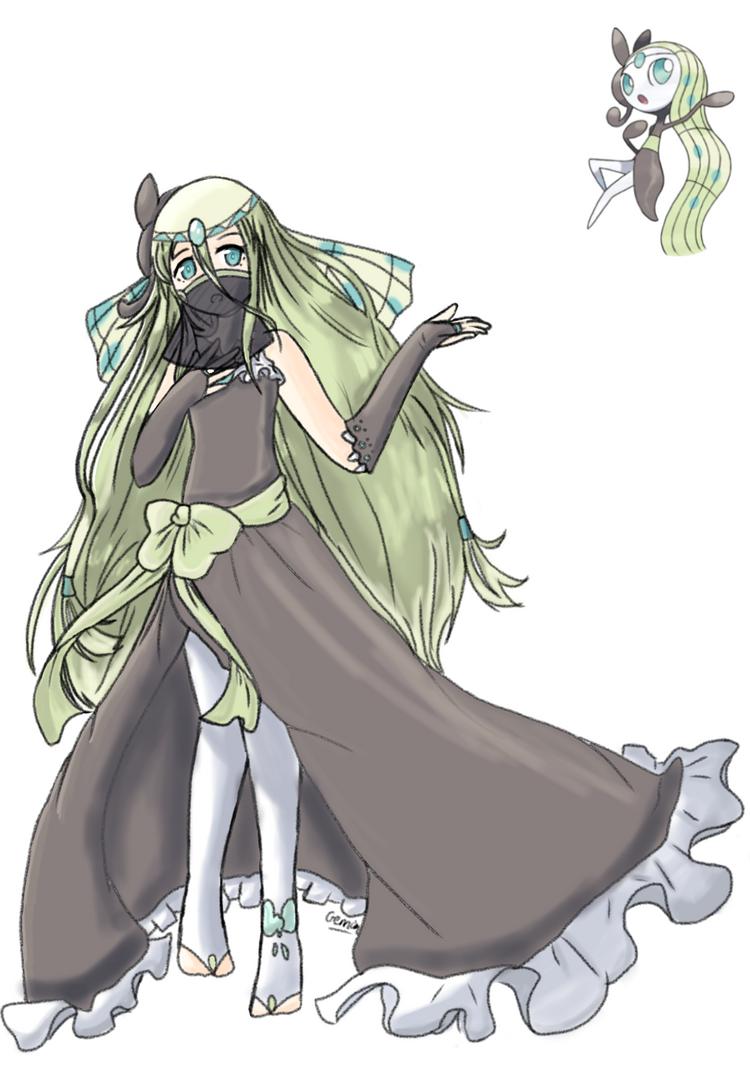 Aria the Meloetta(Aria Form) by Geminithegardevoir on DeviantArt