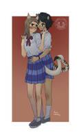 Commissions_Neko girlfriends