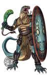 Komodo-kin Warrior