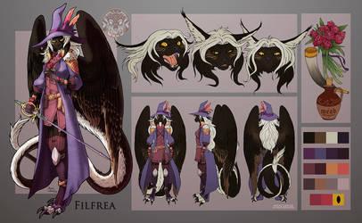 reference sheet Filfrea by filhotedeleao