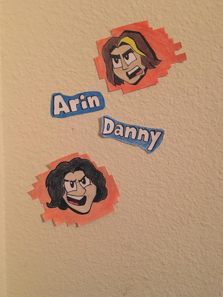 And We're The Game Grumps by RustyNugget614