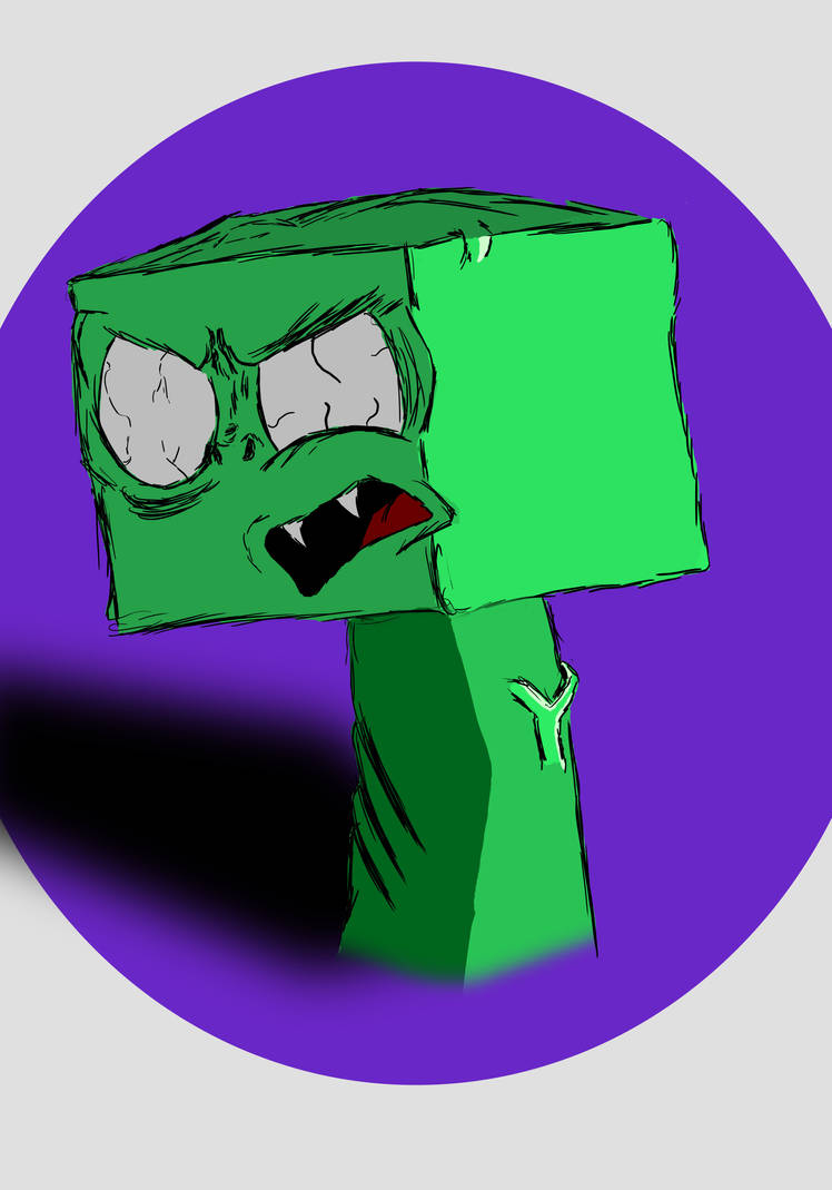 Mr. Creeper by RustyNugget614