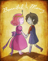 Bonnibel and Marcy by oversoul4