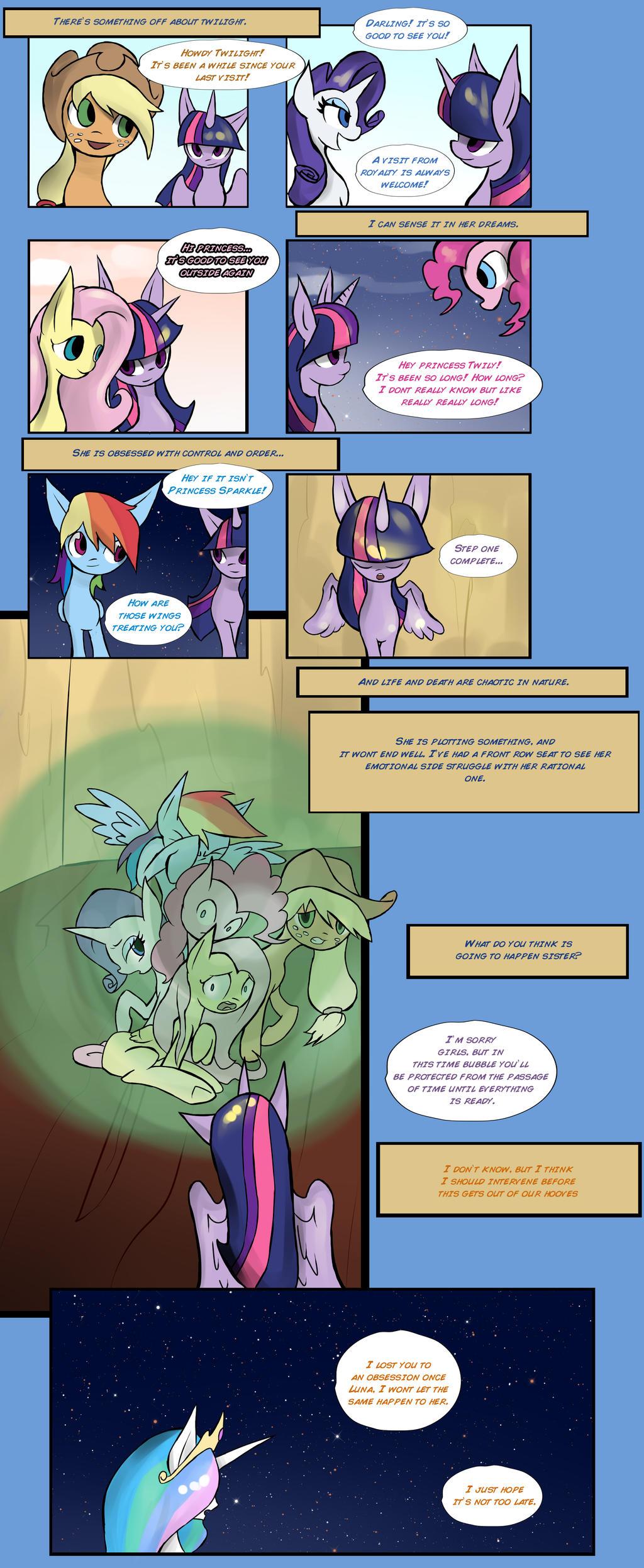 Eternal Twilight part 3 by juanrock