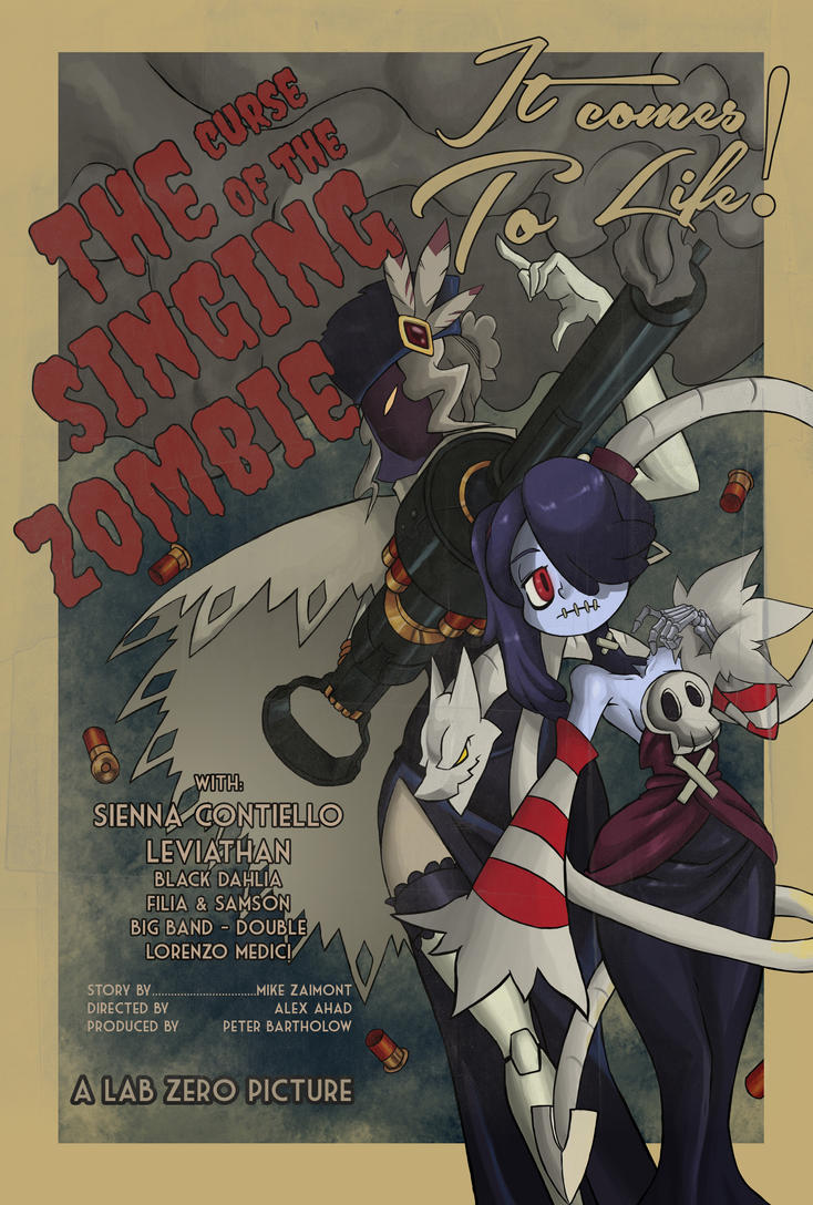 The Curse of the Singing Zombie by juanrock