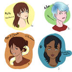 Bitstrips characters!! by Red-velvet-icing