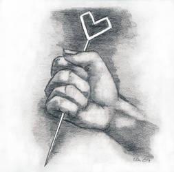 Love hurts......