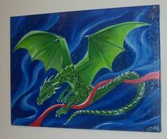 Drago verde by Frollino