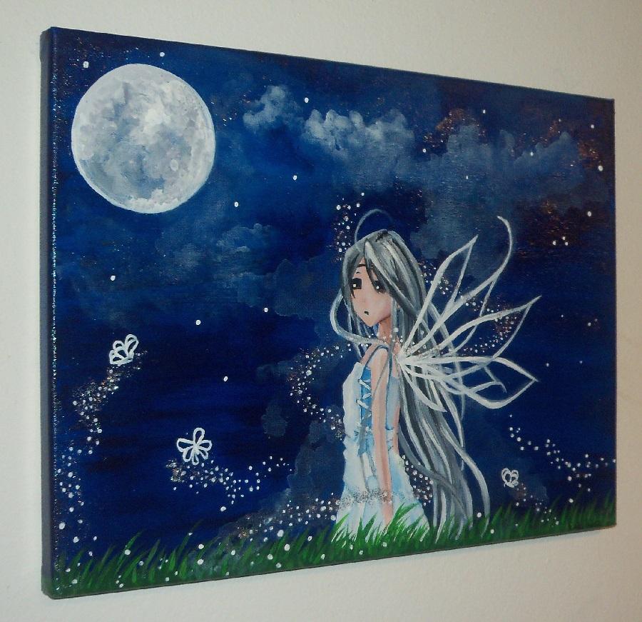 Moon by Frollino