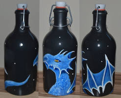 Blue Dragon by Frollino