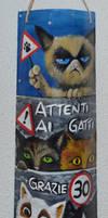 Attenti ai gatti by Frollino