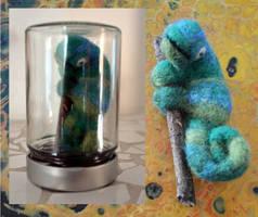 Chameleon by Frollino