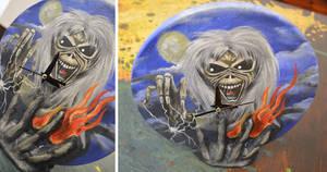 Music Clock #01 Iron Maiden