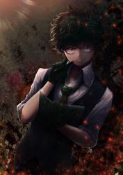 Villain Deku by KirakiPeachy