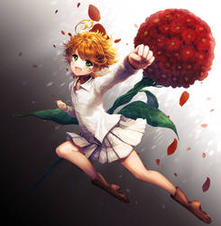Emma The Promised Neverland by KirakiPeachy