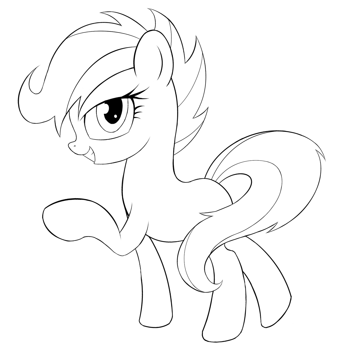 My Little Pony Scootaloo Coloring Pages : My little pony coloring pages scootaloo