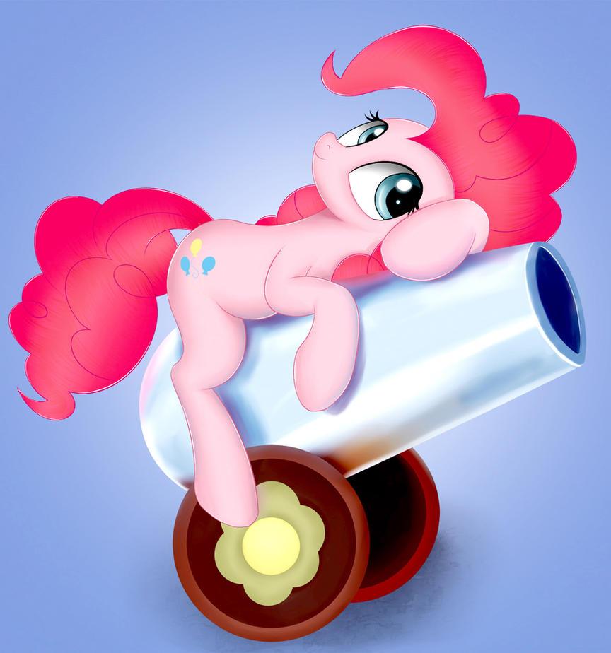 Pin up Pinkie Pie by kas92