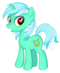 Aqua pony